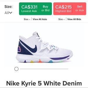 Nike Kyrie 5 White Denim